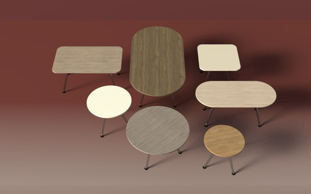 BRC Group Table Furniture by Inspire Contract Group