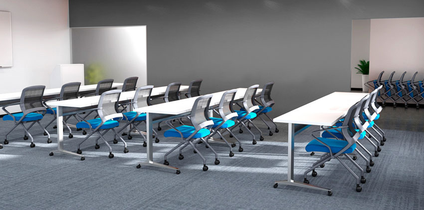 Via Seating Corporate Training by Inspire Contract Group