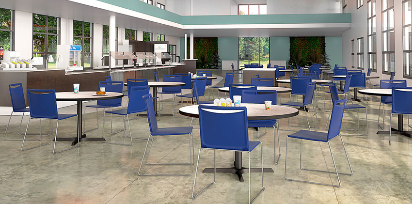 Via Seating Hospitality Furniture Cafe by Inspire Contract Group
