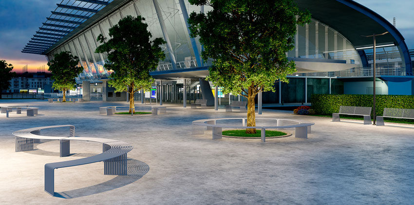 Via Seating Outdoor Landscape Furniture by Inspire Contract Group
