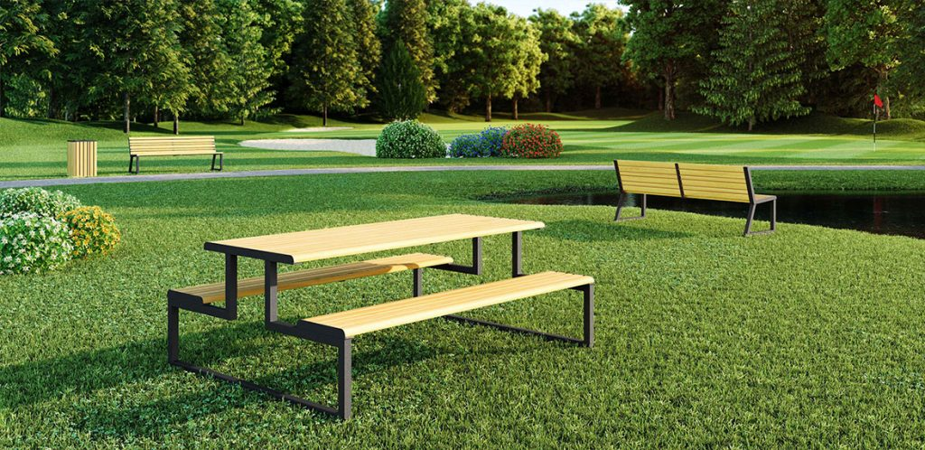 Via Seating Outdoor Landscape by Inspire Contract Group