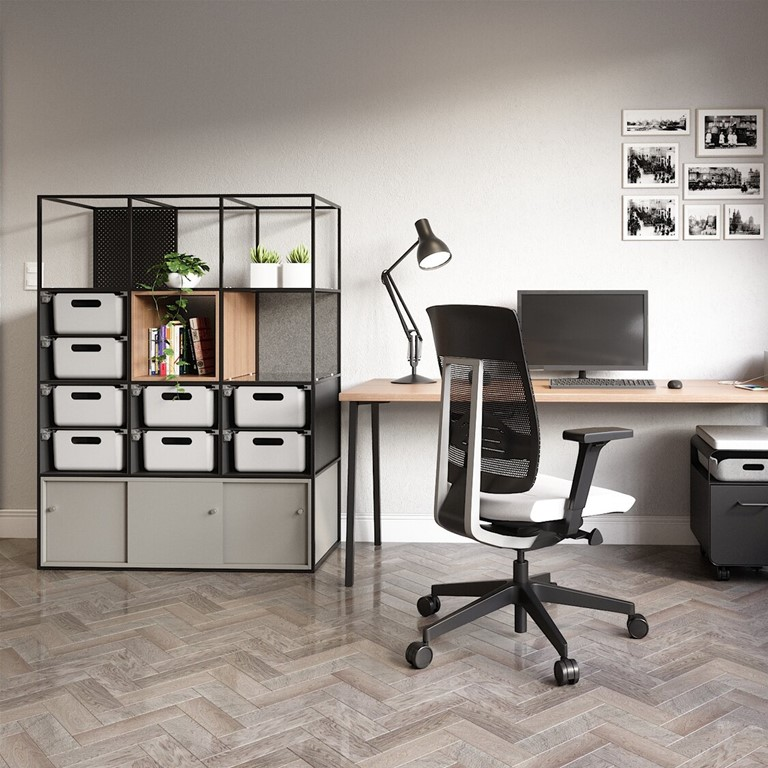 Divider, screen, and storage all in one